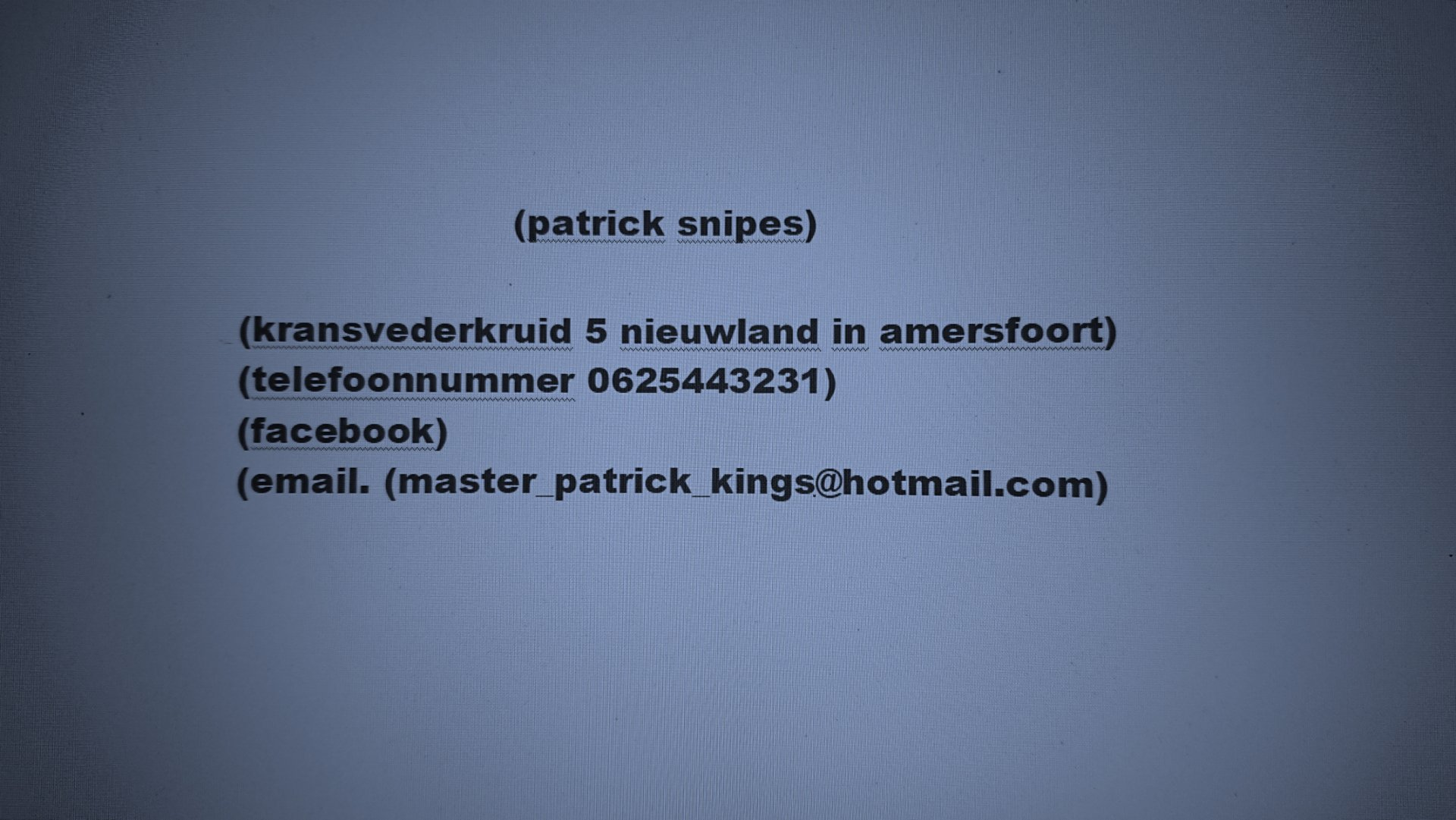 patrickelite1 uit Utrecht,Nederland